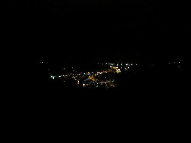 大村地区の夜景