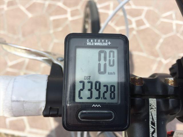 佐渡島一周約240km旅