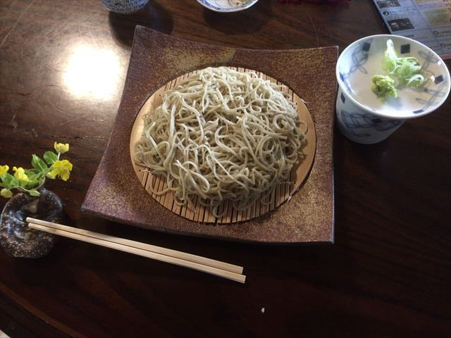 みつわや-蕎麦